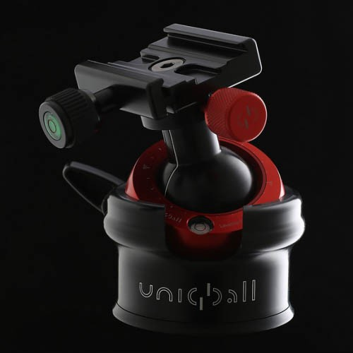 Uniqball UBH45X ALL-IN-ONE System Leveled Pan & Tilt Head, Gimbal Head and Ball Head with a Leveling Base