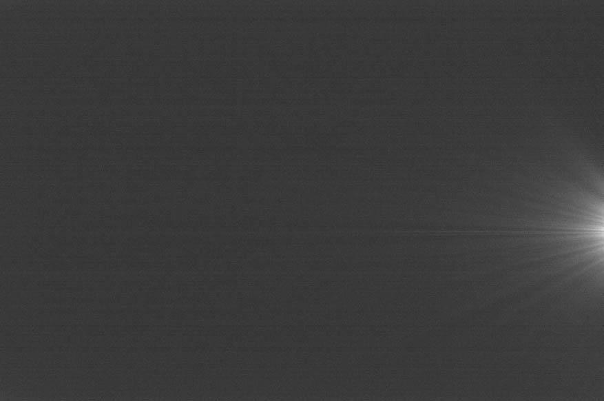 With amp glow – exposure 300 second exposure