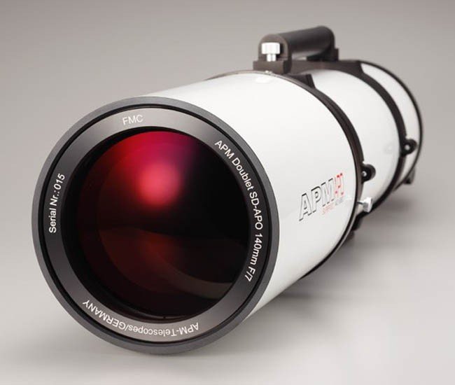 """APM Doublet SD APO 140-980 f/7 FPL53 Optical Tube with 2.5"""" Dual Speed Focuser"""