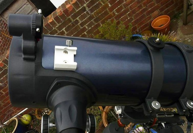 Celestron astromaster eq md reflector telescope with motor drive