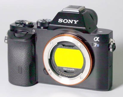 Astronomik CLS Visual Clip-Filter for SONY Alpha 7 Cameras