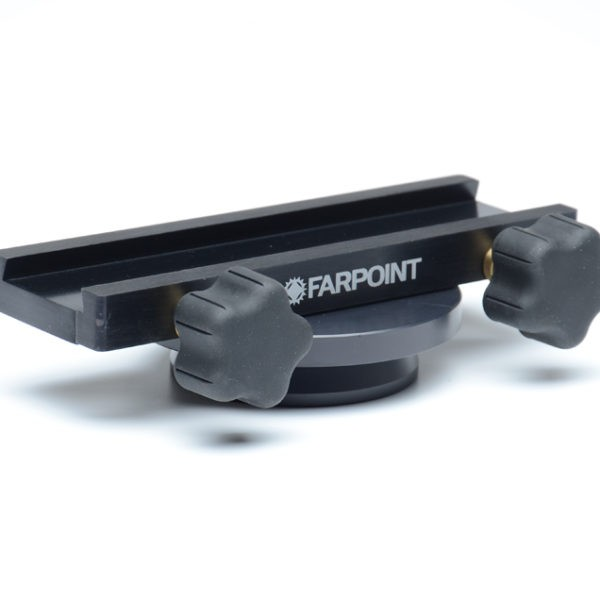 FARPOINT Vixen Style Saddle / Clamp for EQ6 Mount, to Replace Original Clamp