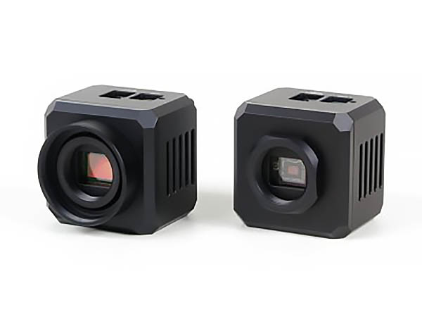 C1 camera with T-thread (M42×0.75) adapter (left) and with CS-mount adapter (right)