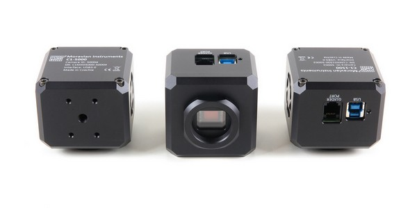 """C1 camera bottom contains standard 0.25"""" (tripod) thread and 4 metric M3 threaded holes"""