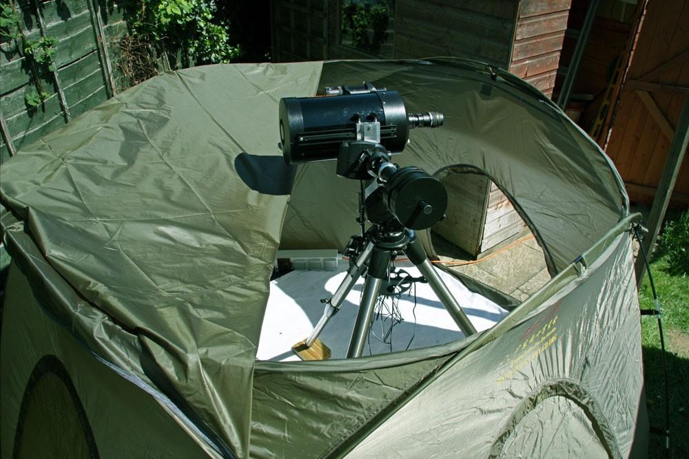 Rezultat iskanja slik za Portable Observatory Tent - Mark II