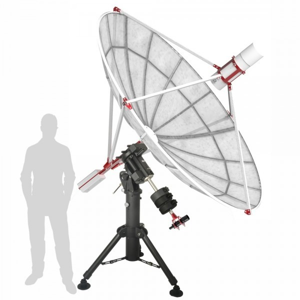 Spider230c 2 3m Amateur Radio Telescope With H142 One Receiver With