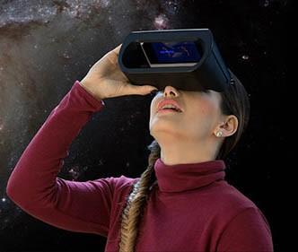 universe2go Personal Planetarium Device and Smartphone App