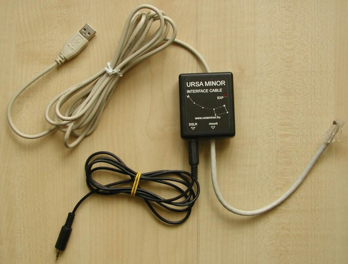 USB Interface for CanonEOS Exposure Control & HEQ5 Autoguider