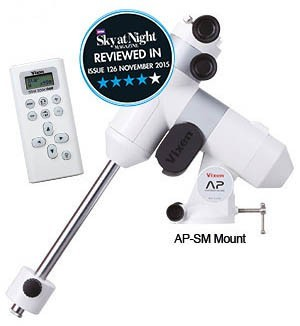 Vixen AP-SM Advanced Polaris Equatorial Telescope Mount with RA Motor Drive and Star Book One but without Tripod