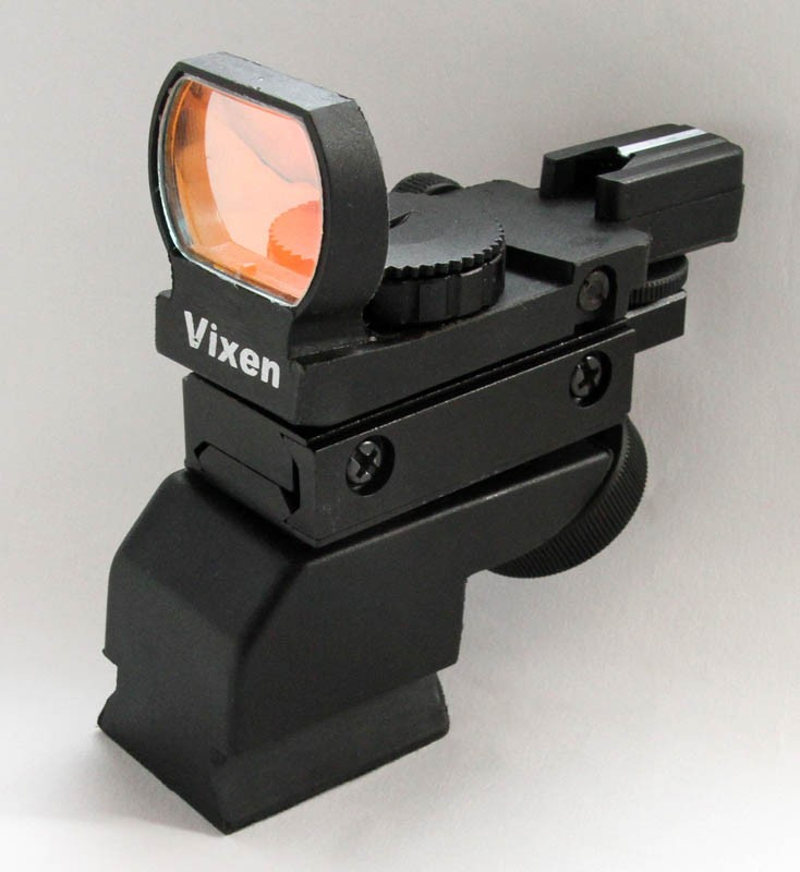 Vixen XY Red Dot Finder Finderscope with Trapezoid Base