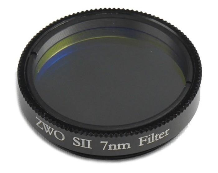 """ZWO 1.25"""" SII 7nm Narrowband Filter - Mark II"""