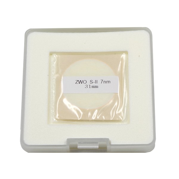 ZWO 31mm SII 7nm Narrowband Filter - UNMOUNTED