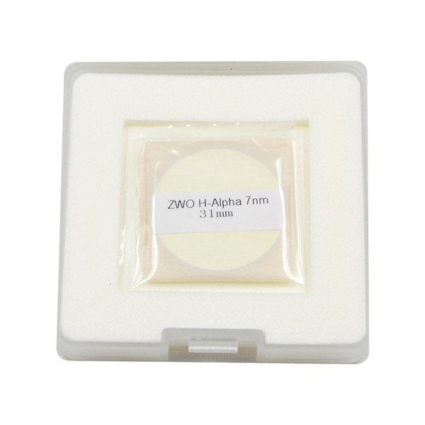ZWO 31mm H-alpha 7nm Narrowband Filter - UNMOUNTED