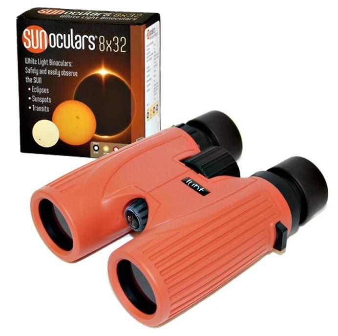 Lunt 8x32 White-Light SUNoculars (Red)