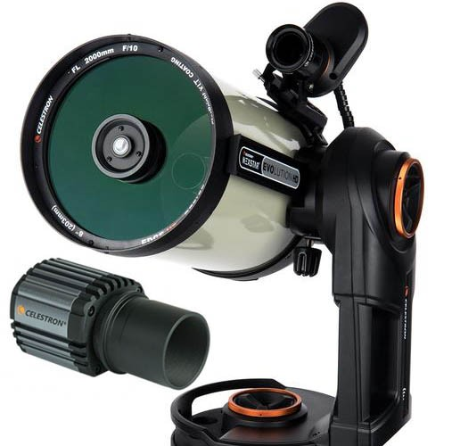Celestron Nexstar Evolution 8 Edge HD with Starsense and Skyris 445M Camera