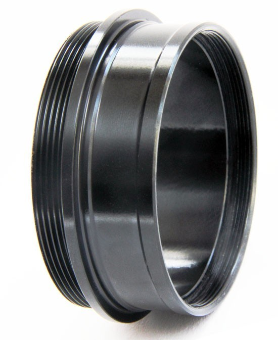 "365Astronomy 2"" Push-fit male to 2"" SCT male Adapter with Integrated 2"" Filter Thread - SHORT"