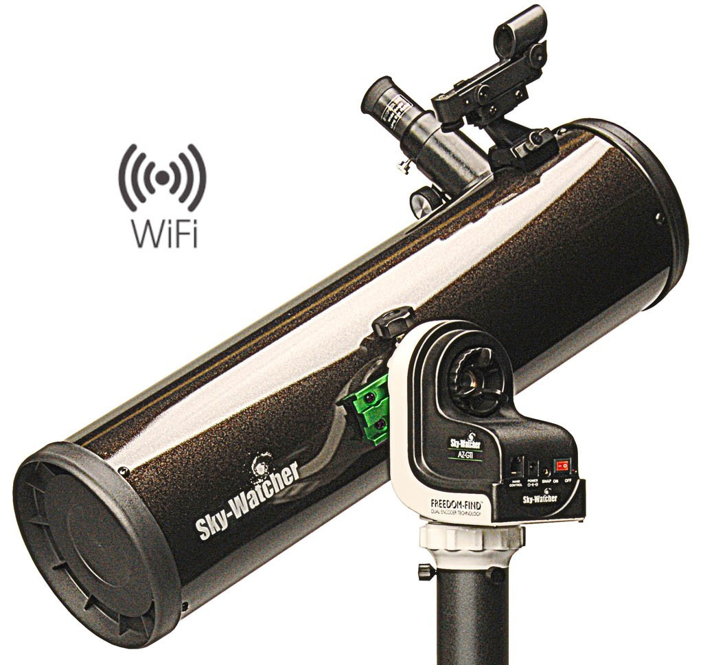 "SkyWatcher EXPLORER-130PS AZ-GTi 130mm (5.1"") f/5 WIFI GO-TO Computerised Telescope"