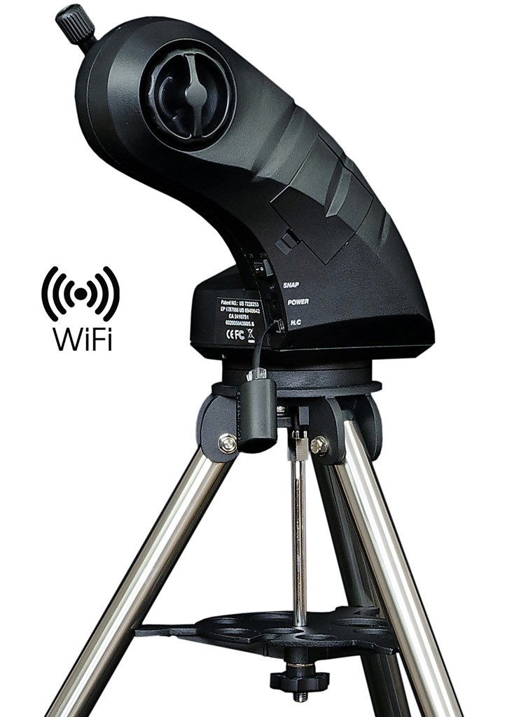 SkyWatcher Star Discovery WIFI AZ GO-TO Computerised Alt-Azimuth Mount & Stainless Steel Tripod