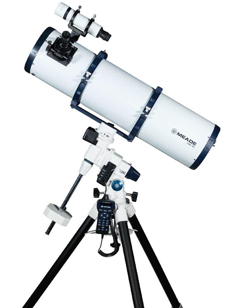 "Meade LX85 Series 8"" Computerised Newtonian Reflector Telescope"