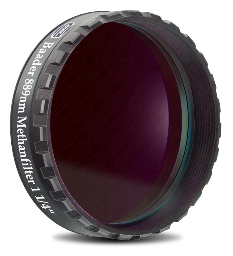 "Baader 1.25"" Methane Narrowband Filter 8nm ZWL 889nm (optically polished)"