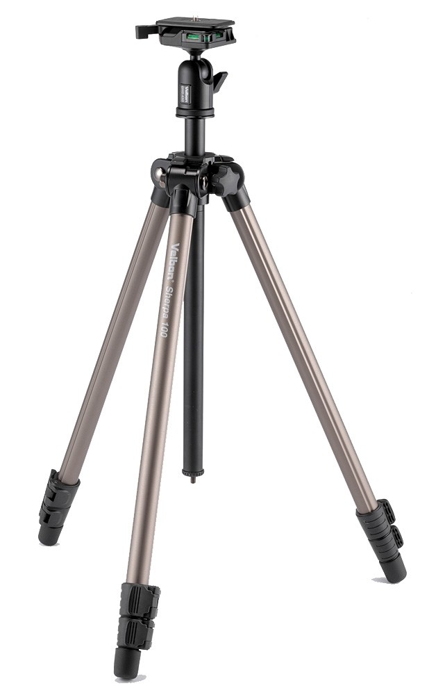 Velbon SHERPA 100 Tripod with QHD-43M Ball & Socket Head