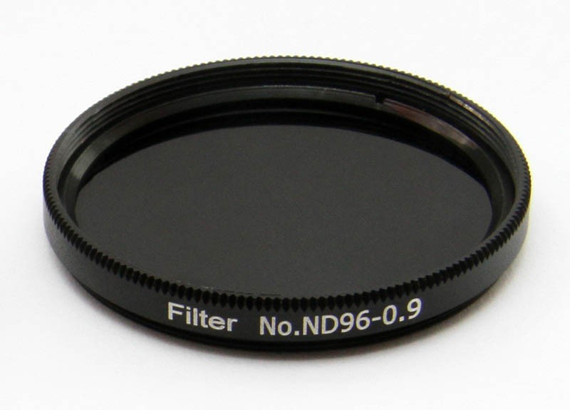 "365Astronomy ND09 Neutral Density Filter with 13% Transmission, 2"", ND96-0.9"