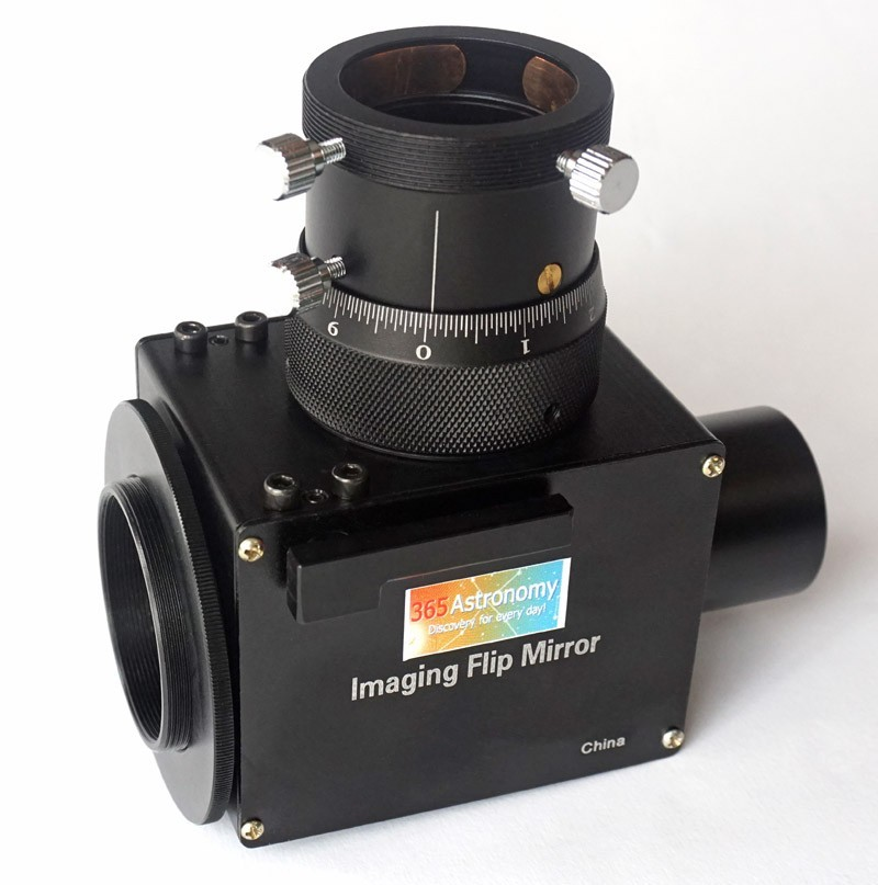 365Astronomy Imaging Flip Mirror with Non-Rotating Helical Micro Focuser - SPECIAL PROMOTION
