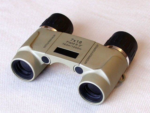 7x18 WP Waterproof & Fogproof Binocular with Nitrogen Filling