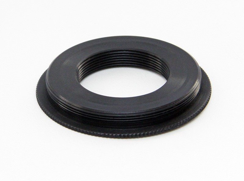 C-Mount Adapter from C-Mount male to T2 female thread