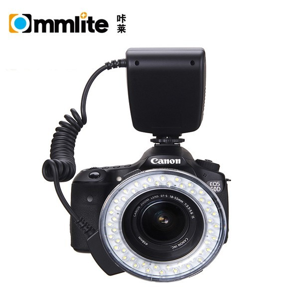 Commlite CoMiray Macro LED Ring Flash Light for SONY Alpha Cameras