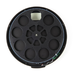 """External Filter Wheel for Moravian Instruments G3 Mark II Cameras with 9 Positions for 2"""" or D50mm Unmounted Filters"""