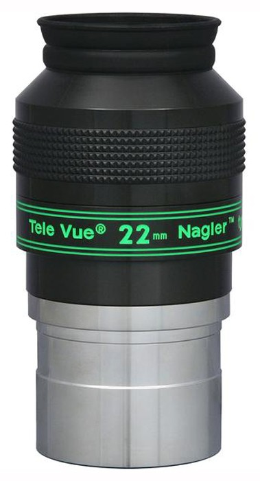 TeleVue Nagler (Type-4) 22mm Eyepiece, 82-degrees, 2""