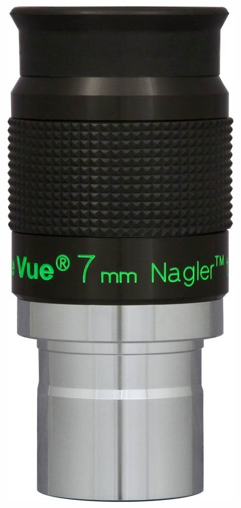 TeleVue Nagler (Type-6) 7mm Eyepiece, 82-degrees, 1.25""