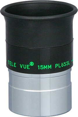 TeleVue Plossl 15mm Eyepiece, 50-degrees, 1.25""