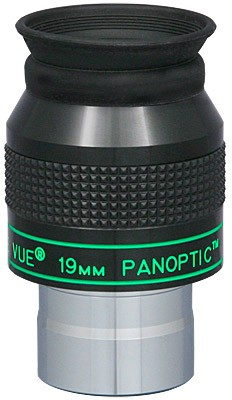 TeleVue Panoptic 19mm Eyepiece, 68-degrees, 1.25""