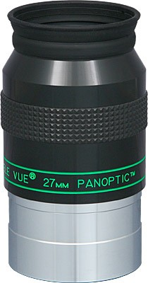 "TeleVue Panoptic 27mm Eyepiece, 68-degrees, 2"" - BLACK FRIDAY"