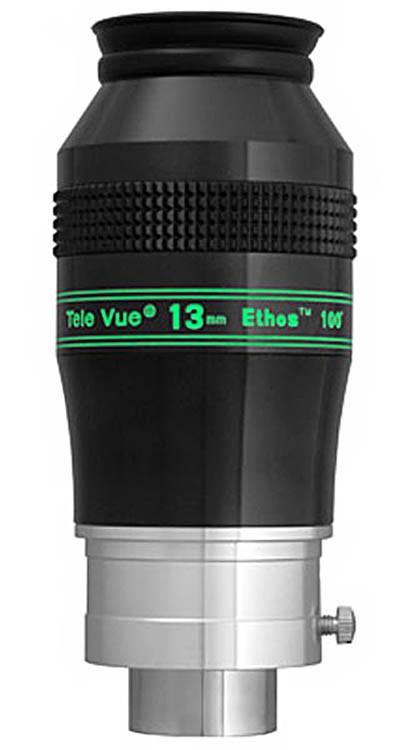 "TeleVue Ethos 13mm Eyepiece, 100-degrees, 2"" & 1.25"""