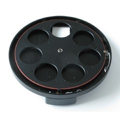 """External Filter Wheel for Moravian Instruments G2 cameras with 7 positions for 2"""" or 50mm filters"""