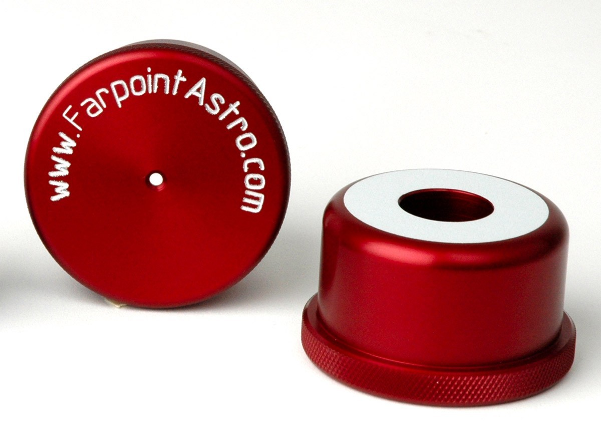 Farpoint 2-inch Reflective Cheshire Collimator - Red