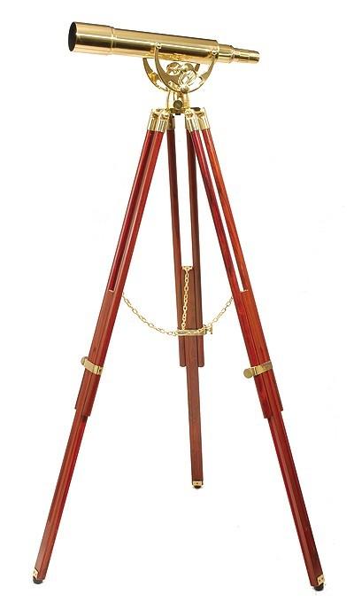 Helios Fine Brass 2060 Traditional Solid Brass Telescope