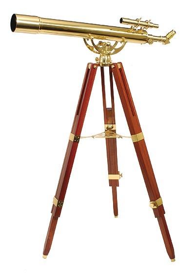 Fine Brass 80900 Traditional Solid Brass Telescope