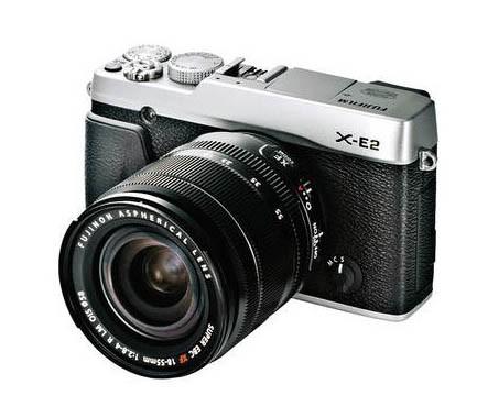 Fujifilm X-E2 18-55mm Silver Compact System Camera