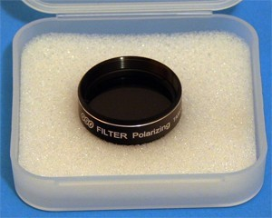 "Polarisation filter with 30% transmission level 1.25"" (M28, 5X0.6)"