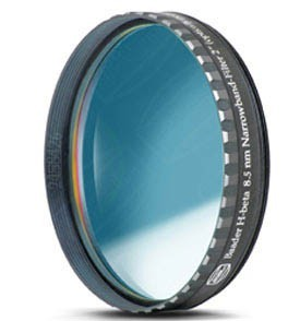 """Baader H-beta CCD Line-Filter 8.5nm 2"""" (optically polished)"""