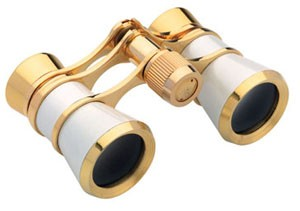 Konus Opera-43 3 x 25 Opera Glasses - Pearl - CLEARANCE