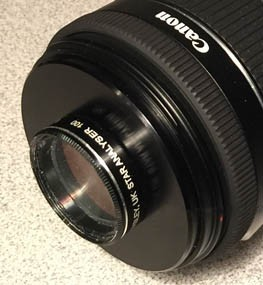"M58 Camera Lens Adapter for 1.25"" Star Analyser"