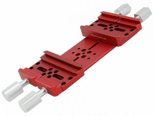 Primaluce Lab Side by Side Losmandy Plate - Dual Platform - 240mm PLUS with Large Dovetail Clamps