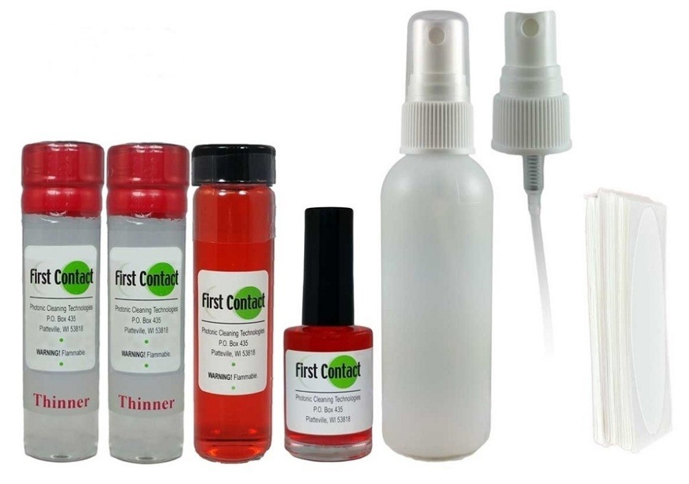 Photonic Red First Contact Cleaning Solution Starter Kit