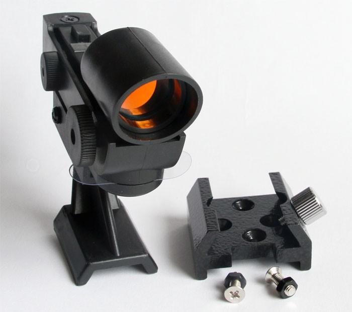 365Astronomy Red Dot Finder Finderscope - METAL BASE