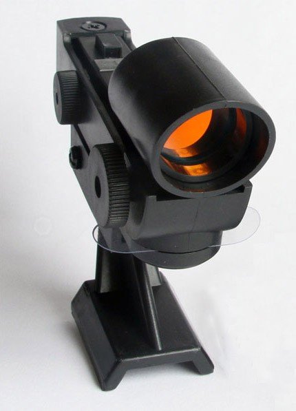 365Astronomy Red Dot Finder Finderscope - TRAPEZOID BASE